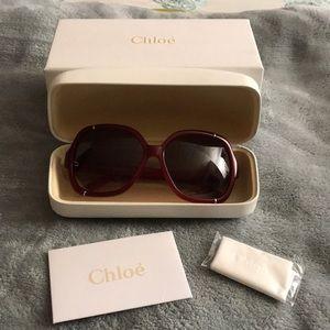 Authentic Chloé sunglasses